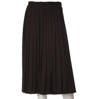 CLEAR IMPRESSION / クリアインプレッション プリーツミモレ丈スカート
