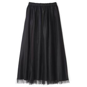 PROPORTION BODY DRESSING / プロポーションボディドレッシング  《BLANCHIC》チュールマキシスカート