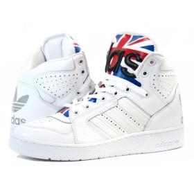 adidas JS INSTINCT HI 【ObyO】【Jeremy Scott】 アディダス JS インスティンクト ハイ UNION JACK/WHITE