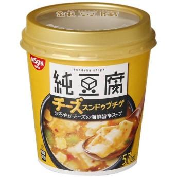 【ケース販売】日清 純豆腐 チーズスンドゥブチゲスープ 14g×6個