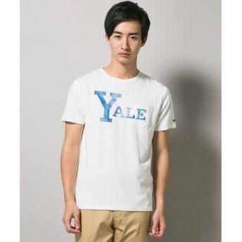 J.PRESS / ジェイプレス YALEプリント ポケットTシャツ