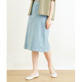 NIMES / ニーム Fake Suede スカート