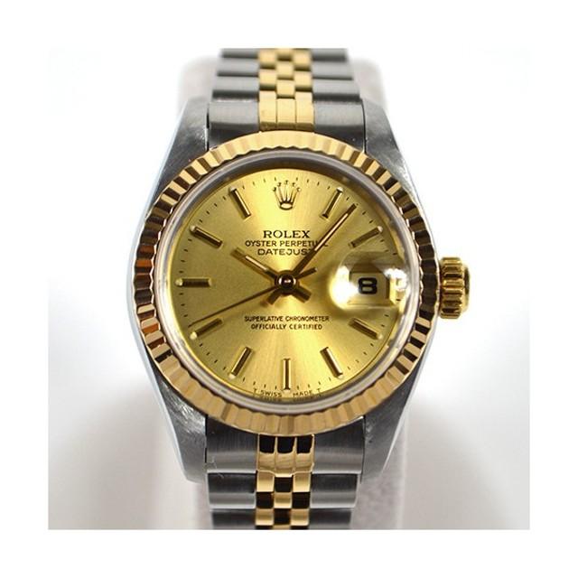 c3bb16dcf1 ロレックス / ROLEX: デイトジャスト レディース 69173 時計 腕時計 レディース[女性用](中古