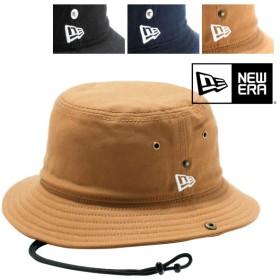 ニューエラ ハット BUCKET-01 あご紐付き ダックコットン 帽子 バケットハット NEW ERA | メンズ レディース