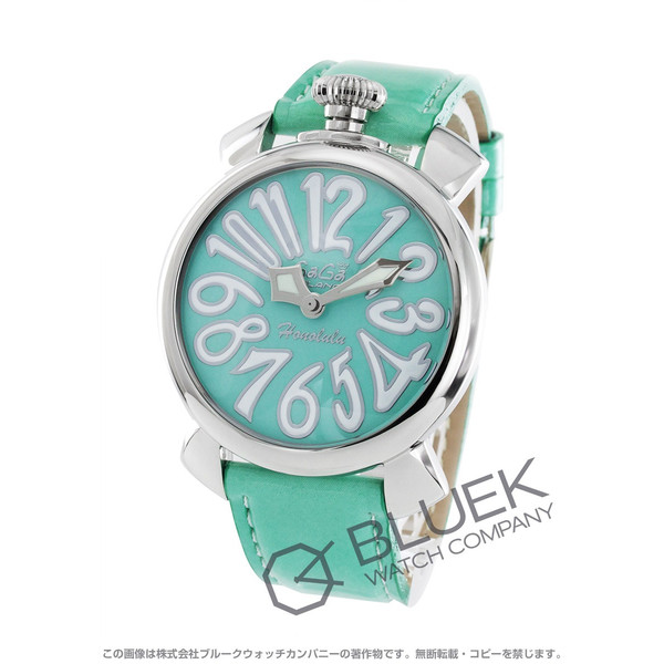 wholesale dealer 3f0b0 39b71 腕時計 ガガミラノ マヌアーレ40MM GaGa MILANO 5021.7 ユニ ...