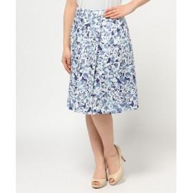 J.PRESS / ジェイプレス ウォーターカラープリント スカート