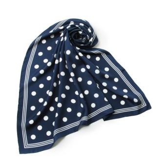 SHIPS for women / シップスウィメン シルクスカーフ