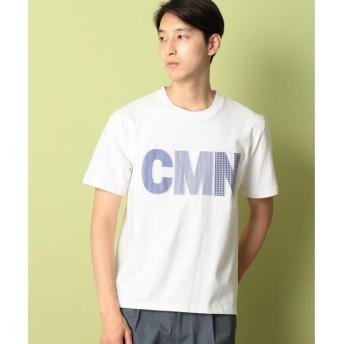 COMME CA COMMUNE / コムサコミューン ロゴ Tシャツ