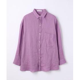 TOMORROWLAND / トゥモローランド リネン オーバーサイズドシャツ