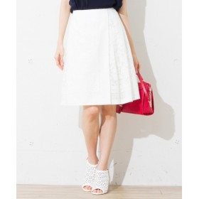 組曲 / クミキョク 【洗える】カチーフオパールプリント スカート