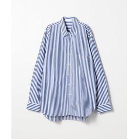 TOMORROWLAND / トゥモローランド 126/2コットンブロード レギュラーカラーシャツ