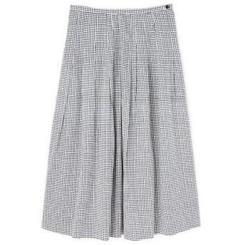 HUMAN WOMAN / ヒューマンウーマン ウインドペンプリントスカート