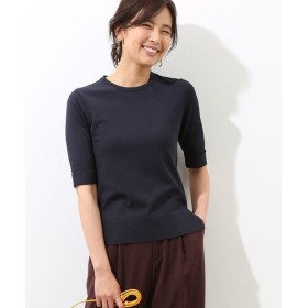 ROPE' / ロペ 【50TH SPECIAL COLLECTION 辻直子監修】ストレッチ5分袖プルオーバー