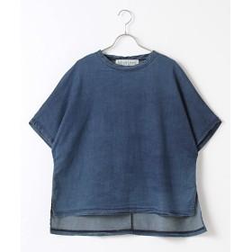 MARcourt / マーコート ニットデニムTシャツ