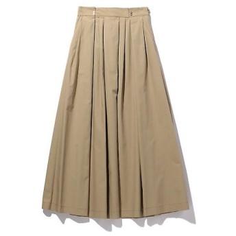 ROSE BUD / ローズ バッド タックフレアロングスカート