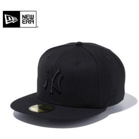 セール20%OFF!【メーカー取次】 NEW ERA ニューエラ 59FIFTY MLB ニューヨーク・ヤンキース ブラックXブラック 11308579 キャップ ブランド
