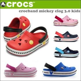 CROCS CROCBAND MICKEY CLOG 3.0 KIDS サンダル crs-040