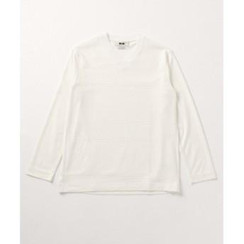 JOSEPH ABBOUD / ジョセフ アブード 【キングサイズ】OGコットンリンクスヘリンボーン Tシャツ