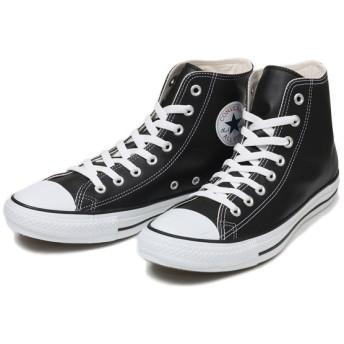 【converse】 コンバース LEATHER ALL STAR HI レザー オールスター ハイ BLACK