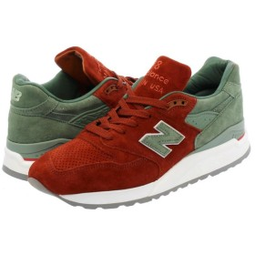 【ビッグ・スモールサイズ】 NEW BALANCE M998BMG 【CONCEPTS】【CITY RIVALRY】 【MADE IN U.S.A.】 【Dワイズ】  ニューバランス M 998 BMG RED/BOWN/OLIVE