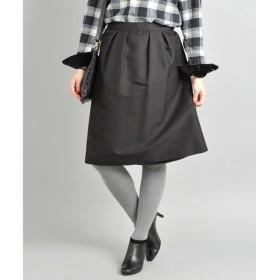 SHIPS for women / シップスウィメン コットン シルク ギャザースカート