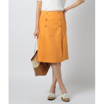 J.PRESS / ジェイプレス 【洗える!】C/Liシャンブレツイル スカート