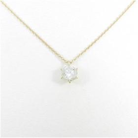 【リメイク】K18YG ダイヤモンドネックレス 0.618ct・K・VVS2・GOOD