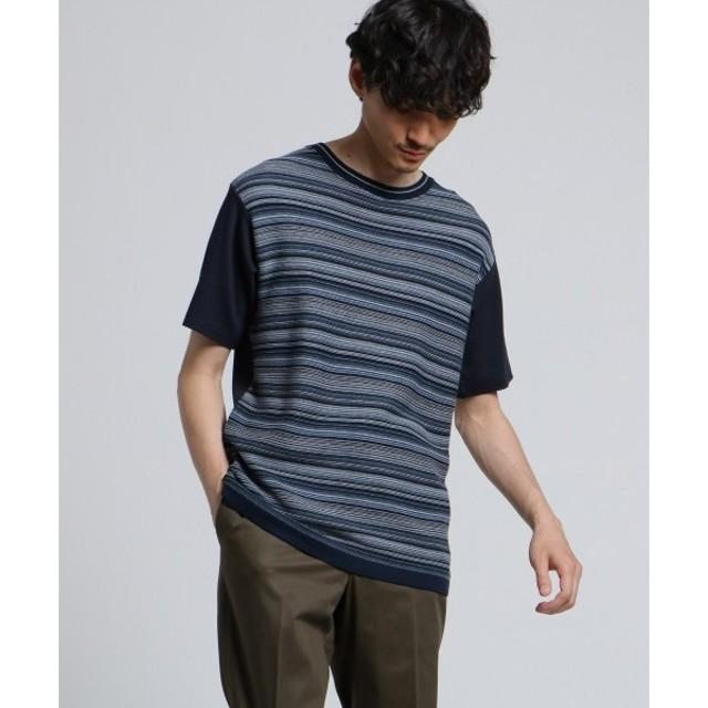 TAKEO KIKUCHI / タケオキクチ ニットドッキングTシャツ[ メンズ Tシャツ ニット ]