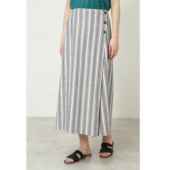 HUMAN WOMAN / ヒューマンウーマン ◆デッキストライプスカート