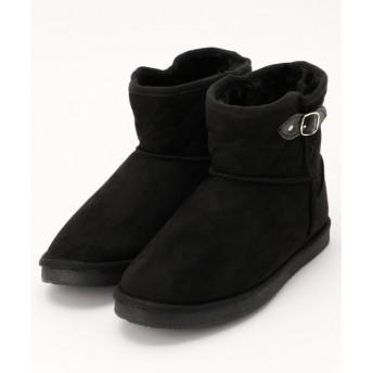 any SiS / エニィスィス キルティングフェイクムートン ブーツ