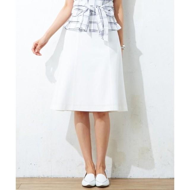 J.PRESS / ジェイプレス 【洗える!】シャイニーラミーミラノリブ スカート
