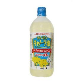 味の素 さらさらキャノーラ油 コレステロールゼロ 1000g エコボトル