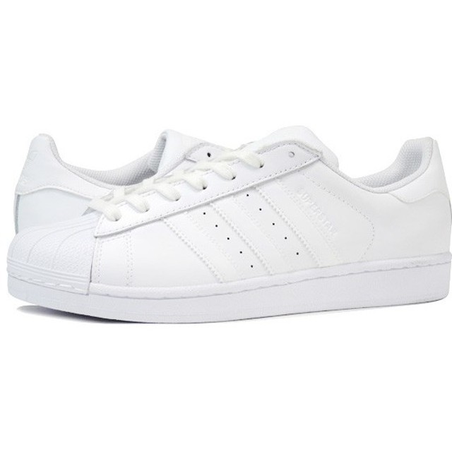 adidas SUPER STAR アディダス スーパースター WHITE/WHITE メンズ スニーカー ホワイト 白 b27136