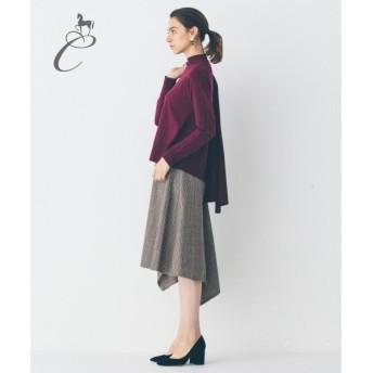 自由区 / ジユウク 【Class Lounge】GUNCLUBCHECK WOOL スカート