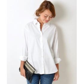 SHIPS for women / シップスウィメン カシュクールシャツ
