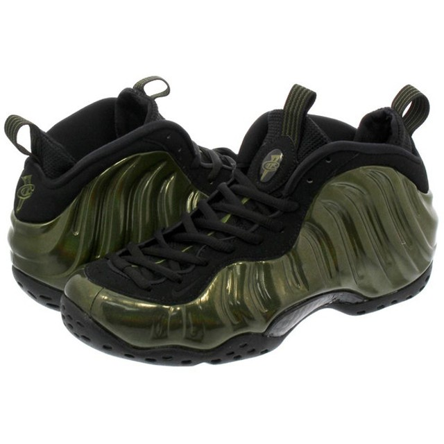 NIKE AIR FOAMPOSITE ONE ナイキ エア フォームポジット ワン LEGION GREEN/BLACK/BLACK