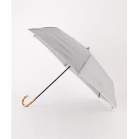 SHIPS for women / シップスウィメン シャンブレ折りたたみ傘 晴雨兼用