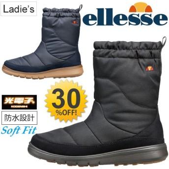 レディース ellesse エレッセ ウインターウォームブーツ スノーブーツ シューズ 靴 女性 婦人 防水/V-WT806