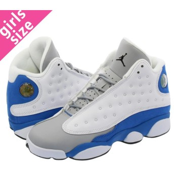 NIKE AIR JORDAN 13 RETRO GG ナイキ エア ジョーダン 13 レトロ GG WHITE/ITALY BLUE/WOLF GREY