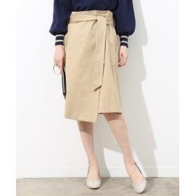 ROPE' / ロペ チノフロントアシメトリースカート