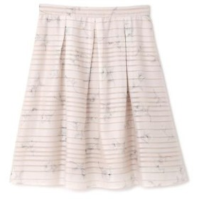 PROPORTION BODY DRESSING / プロポーションボディドレッシング  シアーボーダーフラワープリントスカート