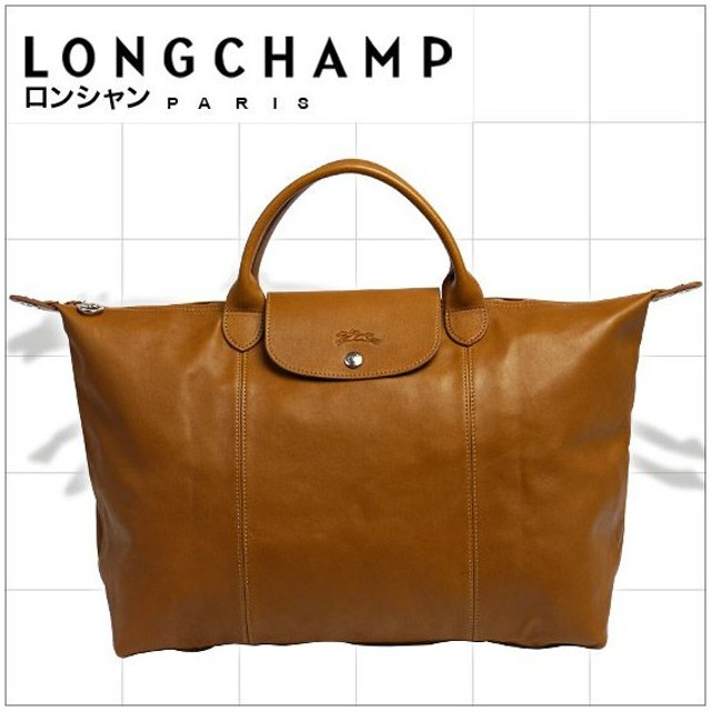 competitive price 7bbbb 4c43d ロンシャン ル・プリアージュ キュイール トートバッグ 1630 ...