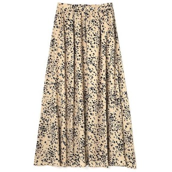 PROPORTION BODY DRESSING / プロポーションボディドレッシング  《BLANCHIC》フラワーレオパードスカート