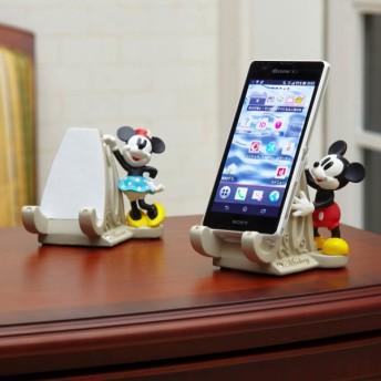 リモコン 携帯スタンド ディズニー スマートフォンスタンド ミッキーマウス ミニーマウス ドナルドダック デイジーダック