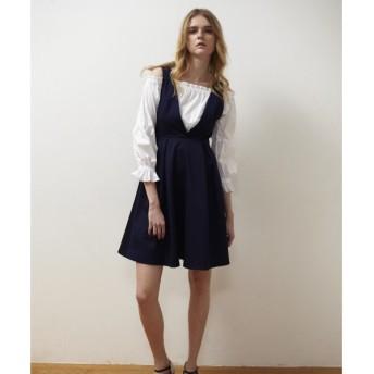 GRACE CONTINENTAL / グレースコンチネンタル トリアセツイルジャンパースカート