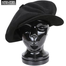 New York Hat ニューヨークハット 9080 ウール ビッグアップル ブラック [9080] キャスケット ジョンレノンも愛用したモデル ブランド