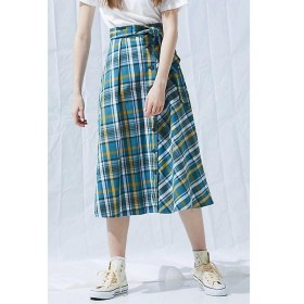 PROPORTION BODY DRESSING / プロポーションボディドレッシング  《BLANCHIC》タータンチェックフレアスカート