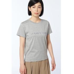 HUMAN WOMAN / ヒューマンウーマン cool cotton jerseyTシャツ