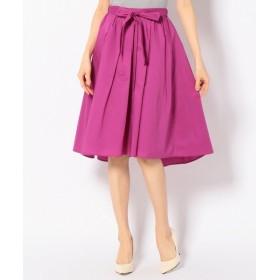any FAM / エニィファム 【サッシュベルト付き】80タイプライター スカート
