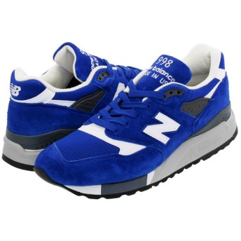 NEW BALANCE M998CBU 【MADE IN U.S.A.】 【Dワイズ】 ニューバランス M 998 CBU BLUE/WHITE